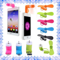 battery pocket fan - Portable CellPhone Mobile Phone Mini Fan Cooling Cooler For iPhone s s Plus Android Phone
