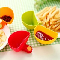 Wholesale Kitchen Bowl Kit Tool Small Dishes Spice Clip For Tomato Sauce Salt Vinegar Sugar Flavor Spices
