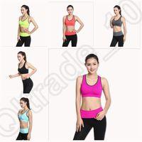 Wholesale 10Set Fitness Gym Running Yoga Sports Stretch Bras Set Split Bras Suit Set Fashion Womens Exercise Leggings Bras Trousers