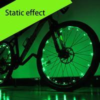 bicycle led strips - LED Bike Wheel Lights Tire Light Hubs Lights Mountain Bicycle Light Strip Intelligent Motion sensor Spoke Riding Lamp Cycling Safety Light