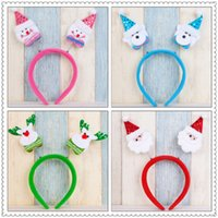 Wholesale sales Christmas decorations Children used to decorate the hair Four styles Hair hoop