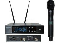 Wholesale True Diversity UHF QLXD2 Digital Wireless Microphone System MICROPHONE SYSTEM QLXD24 QLXD2 QLXD4 Cordless MIC Mhz