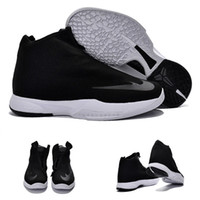 Wholesale Hot Sale Kobe Bryant Icon China Black White Men Shoes