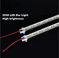 Wholesale Super bright CM rigid strip LED Bar Light Kitchen led light bar LEDs LED DC12V LED Hard LED Strip with U Aluminum
