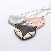 Wholesale 2016 New Baby Girls Fox Cartoon Bags Sweet Mini Purse One Shoulder Fashion Bags Colors