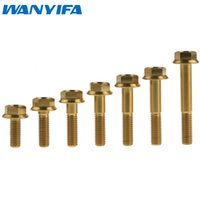 Wholesale Titanium M8 x mm DIN Hex Head Flange Bolt Screw Fastener