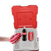 Wholesale Mini Car Fridge Portable Car household Refrigerator Travel Car Cooler Box Dual Mini Fridge With Bluetooth Speaker Function