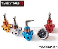 Wholesale SARD Fuel Pressure Regulator Fuel Regulator The black gauge with SARD brand Blue silver red golden TK FPR0518B
