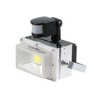 Lámpara infrarroja pasiva del sentido de la inducción del reflector del LED de la luz de inundación del sensor de movimiento de DHL Free + 2pcs / Lot 30w 40w 50wW PIR 85 ~ 265V