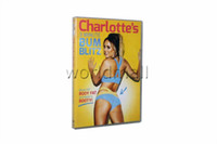 Wholesale Charlotte Crosby s Minute Bum Blitz DVD Workout DVDs Boxset Fitness DVD Video US Version Factory Sealed Good Quality