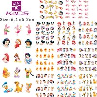Wholesale KADS LARGE BLE488 one set Sheet IN Water decal Nail Stickers Cartoon design nail sticker For nail accessories