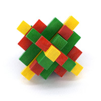 Wholesale education toys Puzzles Toy Sticks Large Pineapple Balls Kong Ming Lock christmas gift