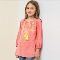 big orange nation - Nation Teenager Floral Tassel T shirts Junior Fashion Cotton Shirts Big Babies Autumn Christmas Jumper tops babies clothes