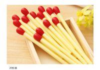 Wholesale New Design Match Stick Shape Ball Pen for Promotions Match Stick Shape Ball Pen