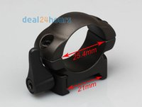 Wholesale 1 Pair Rifle Quick Release Steel Scope Rings for mm inch Tube Mount Low Profile order lt no track