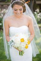 best designer wedding dresses - Top Quality Best Sale For Wedding Dresses Fashion Designer White Ivory Fingertipe Cut Edge Veil Mantilla veil Bridal Head Pieces
