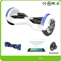 adult skates - Phone APP Control Smart Skate Board Adult Self Balancing Wheel LED Scooters Inch Two Wheels Electric Bluetooth Hover Board Drop Shipping