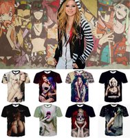 Cheap summer t shirts for men women brand Naked sexy Girl with drinking Printed 3d t-shirt camisetas rock hombre 25 styles HHA866