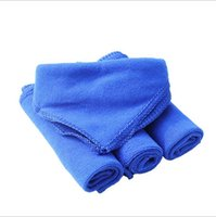 Wholesale Superfine fiber towel Glass clean Household Cleaning cm car Cache towels Super BlueWater