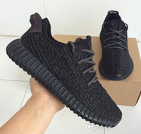 Wholesale Top Pirate Black Authentic Original Kanye West Boost Low Y Men s Sports Running Shoes Turtle dove Moon Rock Oxford Tan shoes