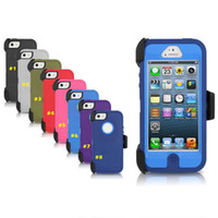 battery hard case - iPhone Plus Armor Case Hard TPU Rubber Silicone Deffender Cases Shockproof Anti Scratch For Iphone S s plus Samsung