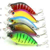 alice gear - Brightly colored lure bionic bait Alice mouth bass perch attract fish attention plastic hard bait fishing gear