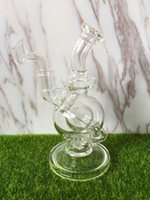 Wholesale Faberge Egg Water pipe recycler bongs New Glass bong fab egg Bongs original oil rig dabs glass