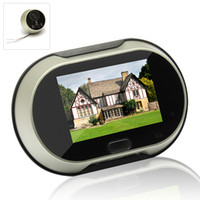 bell tech - Large Inch Screen Digital Door Viewer Video Door Bell Don t Disturb Enjoy hi tech security life