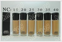 Wholesale New Makeup Face NC Colors Series Matchmaster Foundation Liquid SPF15 ml