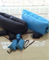 Wholesale inflatable lounger hangout inflatable sleeping bag lamzac air hangout bag lamzac hangout lazybag down fill sleeping bag camping