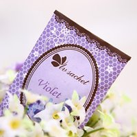 Wholesale 10pcs Random shipping car romantic aromatherapy sachet bag different flavor Fragrances