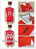 arsenal soccer jersey cheap - Top Thai Quality Arsenal Women Cheap Soccer Jersey Home Red ALEXIS OZIL WILSHERE WALCOTT CECH etc Soccer Jerseys