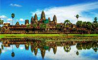 angkor wat - 24X36 INCH ART SILK POSTER Angkor wat landscape