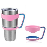 Wholesale 3 Color oz Rambler Handles for YETI Cups Cool Summer for Outdoor Travel Portable Double Wall Car Cups