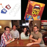 Wholesale New Set Speak Out Game Interesting Party and Family Game For Christmas Hallowmas