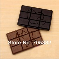 Wholesale Chocolate series hand Mirror Make up mirror pocket cosmetic mirrors Daily accessories price SS