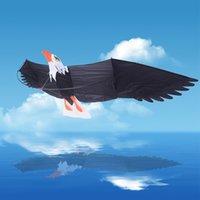 anime desert - 3D Eagle Kites Outdoor Fun Sports Desert Eagle Birds Albatross Surfing Kite Toy Power With Handle amp m Line Easy Control Flying