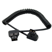 battery connection cables - Digital Cables Data Cables PU Coiled D Tap Male to Male connection cable for DSLR Rig Power V Mount Anton Battery