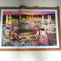 Wholesale Islam Muslim Hui family hotel supplies the Kaaba holy temple mosque Kaaba wall paper painting