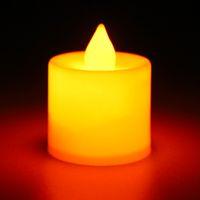 Wholesale Romance LED Flash Flameless Candle Light Lamp Bithday Dinner Spa Party Pub Room Decor