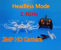 2.4GHz RC Drones avec caméra aérienne RC Drone Quadcopter avec 2MP HD Caméra Enfants RC Toys Helicopter