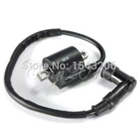 Cheap Ignition Coil For 50cc 150cc 200cc 250cc GY6 Scooter Moped ATV Gokart Dirt Bike coil connector