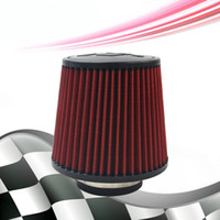 air flow logo - 3 mm Air Intake Filter mm Height High Flow Cone Cold Air Intake without any logo