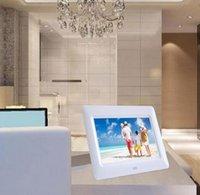 Wholesale 7 inch TFT LCD Digital Photo Movies Frame multi language MP4 Player Alarm Clock Remote
