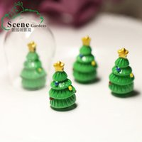 Wholesale Christmas tree landscape DIY resin decoration material