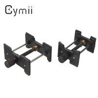 Venta al por mayor-Cymii 2pcs Adjustable Hombre Señora Reloj Movimiento Case Holder Relojeros Vice Herramienta de Reparación