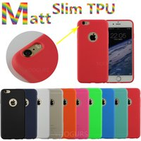 Wholesale 2016 Ultra Thin Matt TPU Case For iphone s Plus SE Samsung Galaxy S6 S7 edge Soft Transparent Protective Camera Silicone Back Cover