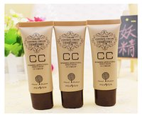 Wholesale CC cream ml moisturizing whitening the flaw Carry bright color of skin Render the frost Invisible Pores