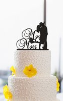 baby names love - cheap Christmas Acrylic Love Bride and Groom Kiss custom name birthday cake toppers wedding bridal baby shower Bachelor party theme decorati