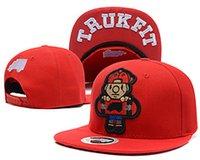 army truck - New Hot sale Brand Men and women Truck Trukfit Snapback flat brimmed hat Skate Cap hiphop hip hop baseball cap Hat